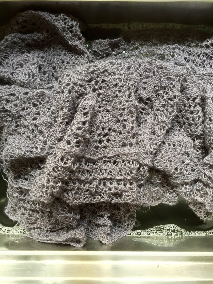 Spiderweb Lace Scarf bathing