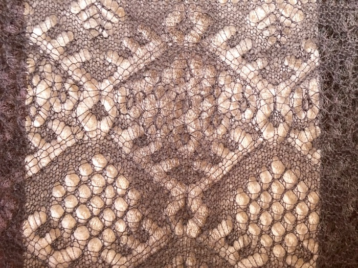 Spiderweb Lace Scarf dressing