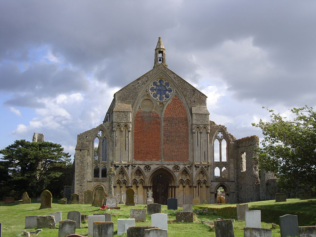 Photograph of Binham Priory, Norfolk, England