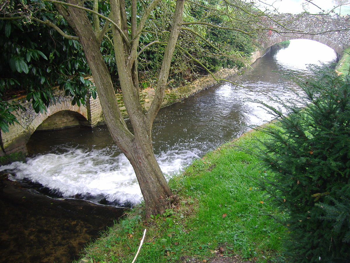 Letheringsett Watermill and the River Glaven