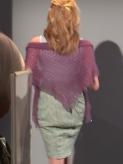 Triangular Shawl by Jennie Atkinson