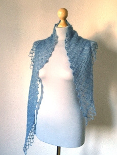 Triangular Scarf by knittingkonrad