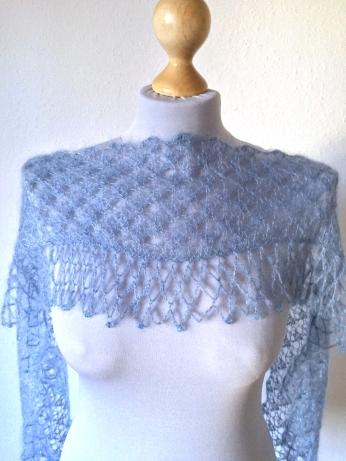 Triangular Scarf by knittingkonrad