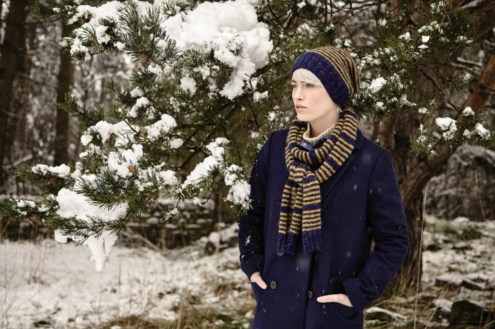 Wedenshaw Hat & Scarf by Sarah Hatton