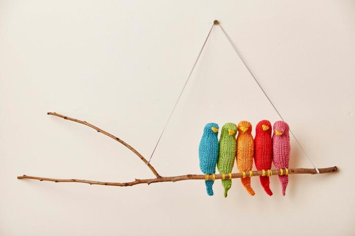 Flock wall hanging by Jem Weston © 2016 Quail Publishing Photography: Jesse Wild